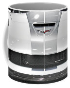 Corvette  Coffee Mug by Tom Gari Gallery-Three-Photography