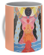 Cosmic Carnival I V Aka Creation Coffee Mug