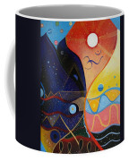 Cosmic Carnival Vlll Aka Sacred And Profane Coffee Mug