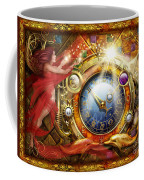 Cosmic Clock Coffee Mug by Ciro Marchetti