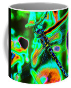Cosmic Dragonfly Art 1 Coffee Mug