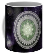 Cosmic Medallions Earth Coffee Mug