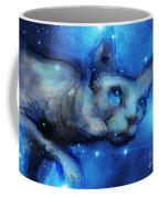 Cosmic Sphynx Cat  Coffee Mug