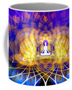 Cosmic Spiral Ascension 18 Coffee Mug by Derek Gedney