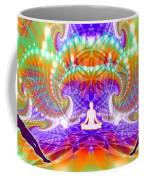 Cosmic Spiral Ascension 60 Coffee Mug