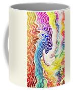 Cosmic Waves Vertical Coffee Mug