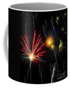 Cosmos Fireworks Coffee Mug