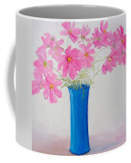 Cosmos Flowers Coffee Mug