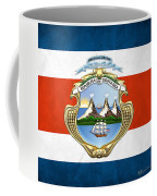 Costa Rica Coat Of Arms And Flag  Coffee Mug