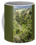Costa Rica Zip Line View Coffee Mug