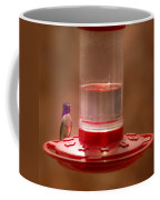 Costa's Hummingbird Keeping Guard Coffee Mug