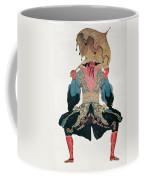 Costume Design For A Chinaman Coffee Mug