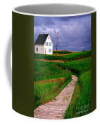 Cottage Among The Dunes Coffee Mug by Edward Fielding