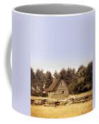 Cottage And Splitrail Fence Coffee Mug