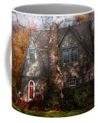 Cottage - Cranford Nj - Autumn Cottage  Coffee Mug