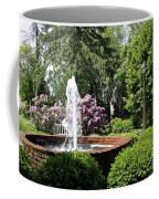 Cottage Garden Fountain Coffee Mug