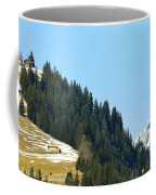 Cottage In Alps Coffee Mug
