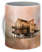 Cottage Of The Past Coffee Mug by Betsy Knapp