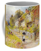 Cottages   A Row Of Cottages Coffee Mug