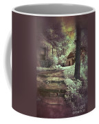 Cottages In The Woods Coffee Mug by Jill Battaglia