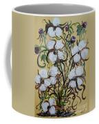 Cotton #2 - Cotton Bolls Coffee Mug