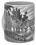 Cotton Factory Village, Glastenbury, From Connecticut Historical Collections, By John Warner Coffee Mug