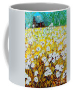 Cotton Fields Back Home Coffee Mug by Eloise Schneider