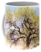 Cottonwood Tree Digital Painting Coffee Mug