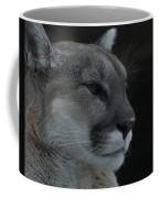 Cougar Profile Coffee Mug
