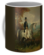 Count Alfred De Montgomery 1810-91 1850-60 Oil On Canvas Coffee Mug