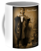 Count Dracula In Sepia Coffee Mug