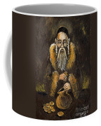 Counting The Gold Coins Coffee Mug