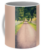 Country Back Roads Coffee Mug