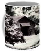 Country Charm In Dramatci Bw Coffee Mug by Darren Fisher