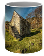 Country Cottage Coffee Mug by Adrian Evans