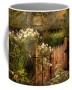 Country - Country Autumn Garden  Coffee Mug by Mike Savad