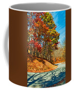 Country Curves And Vultures Paint Coffee Mug