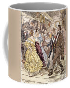 Country Dance, 1820s Coffee Mug