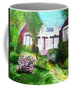 Country Estate In Spring Coffee Mug