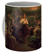 Country Festival Coffee Mug by Ilya Efimovich Repin