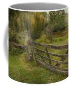 Country - Gate - Rural Simplicity  Coffee Mug by Mike Savad