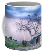Country Horses Riders On The Storm Coffee Mug