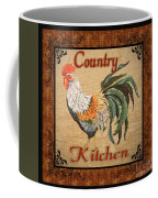 Country Kitchen Rooster Coffee Mug