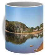 Country Lake Scene Coffee Mug