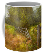 Country - Landscape - Lazy Meadows Coffee Mug by Mike Savad