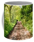 Country Lane Painting Coffee Mug