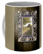 Country Lane Reflected In Mirror Coffee Mug by Amanda Elwell