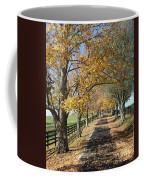 Country Lane Coffee Mug by Roger Potts