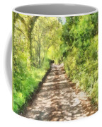 Country Lane Watercolour Coffee Mug