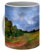 Country Rainbow Coffee Mug